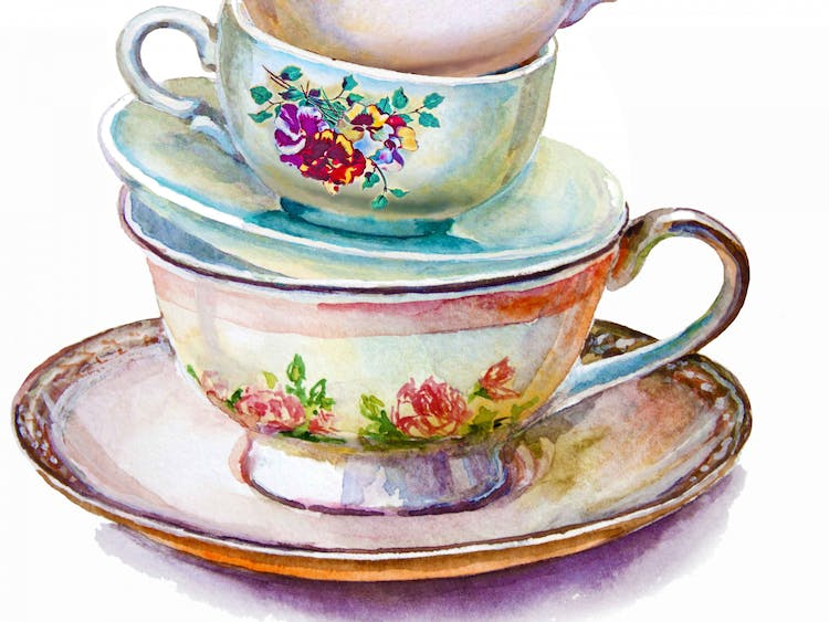 Derby Vintage China Hire