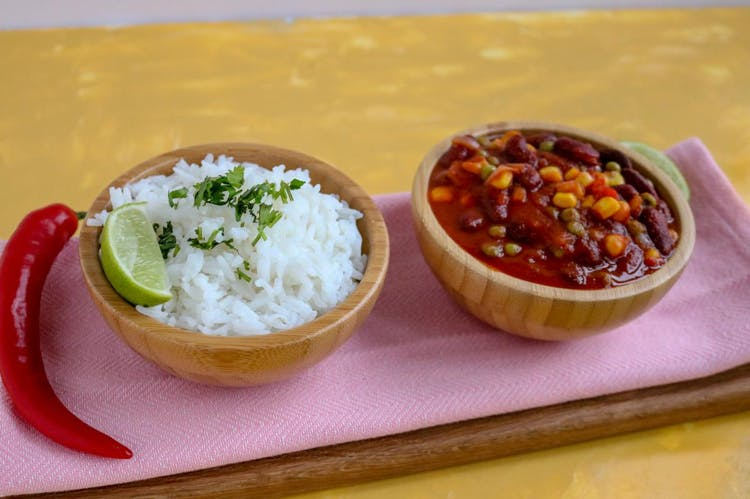 Bean, Pea & Corn Chili