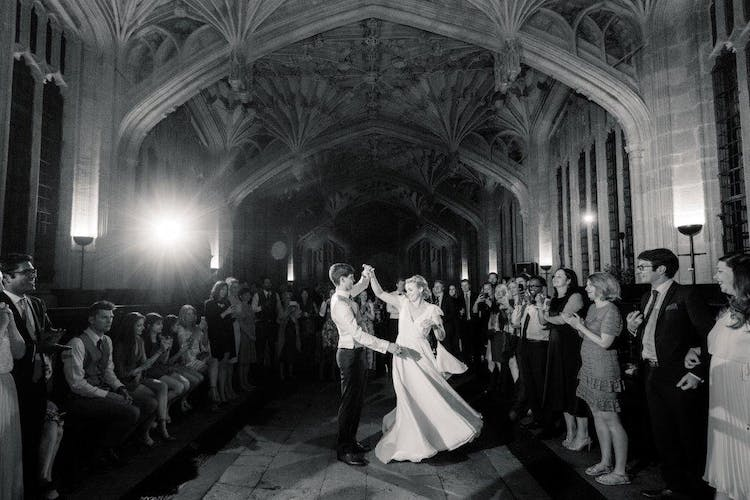 First dance in Divinity School - Becky Harley