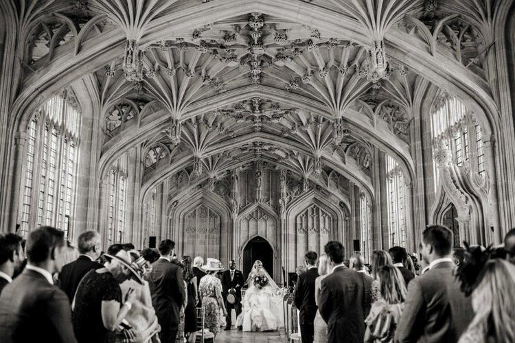 Weddings in Divinity School - Alistair Freeman