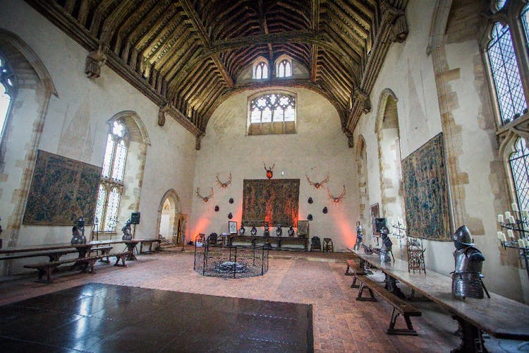 The Baron's Hall set up prior to tables and chairs ©  David Fenwick