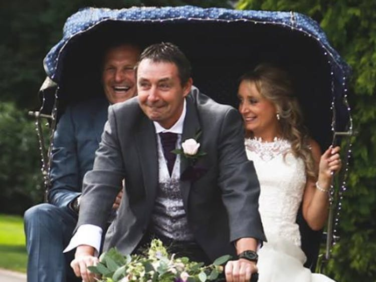 Rickshaw Weddings - Vintage Bicycle Hire