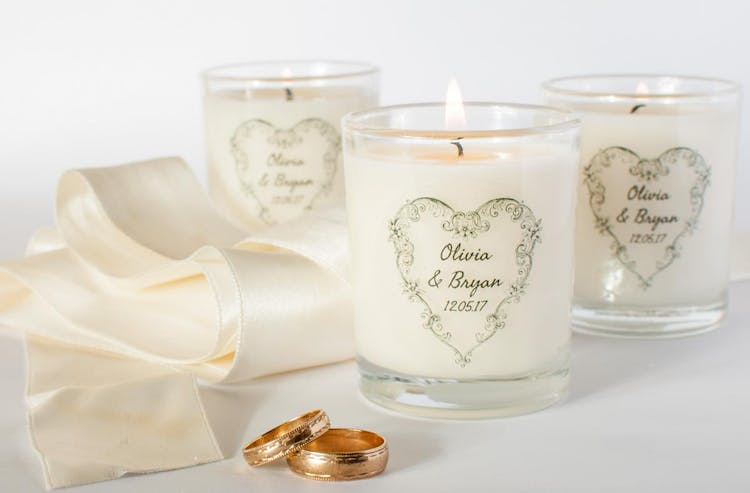 Personalised Scented Wedding Favours