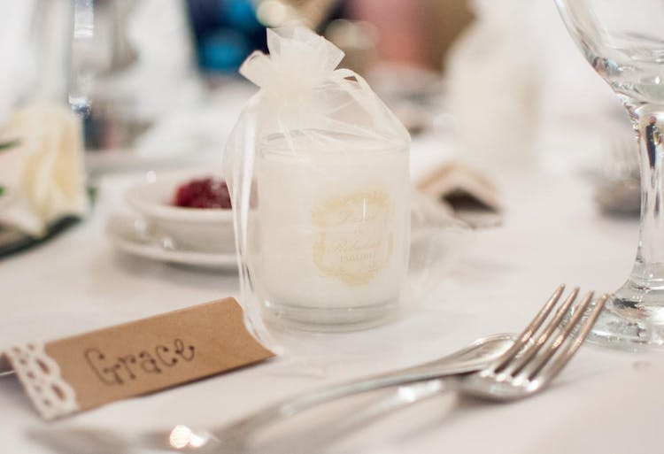 A Picture from one of our customer's of their wedding favours