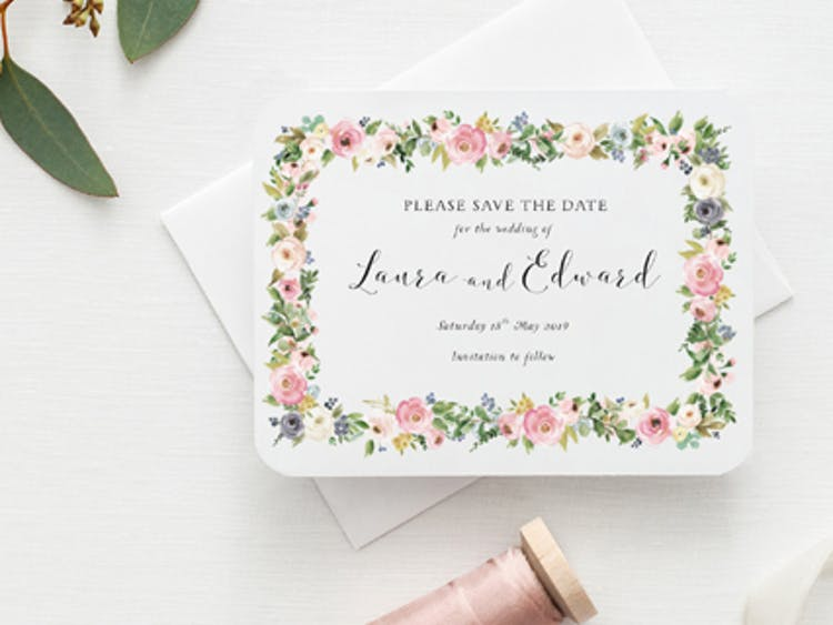 With Love Wedding Stationery