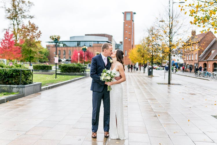 Wedding Photography at the RSC Stratford-upon-Avon