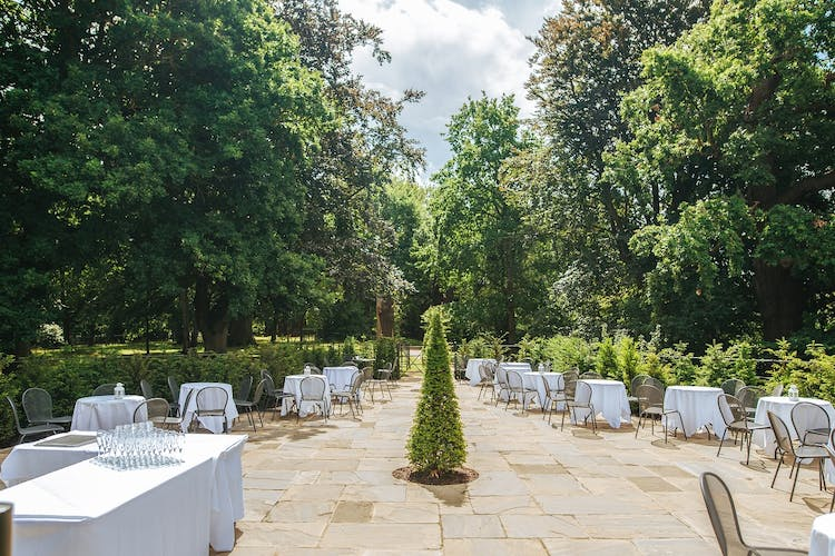 The Woodland Garden for Reception Drinks