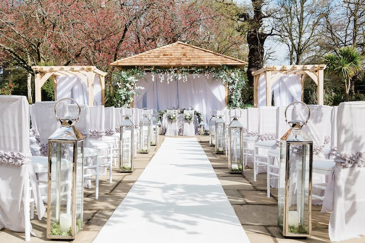 The Belvedere Outdoor Ceremony option