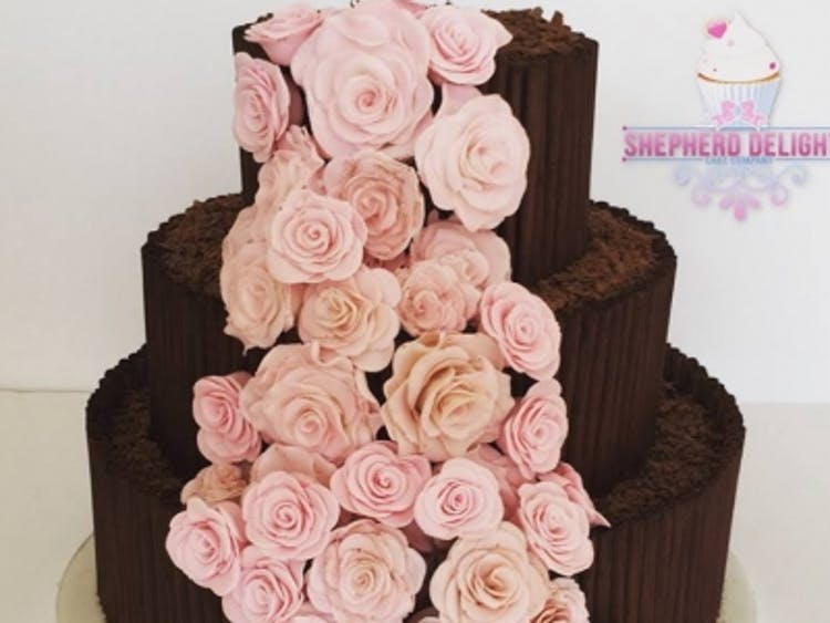 Wedding Cakes Made and Delivered at Shepherd Delights, Berkshire, UK