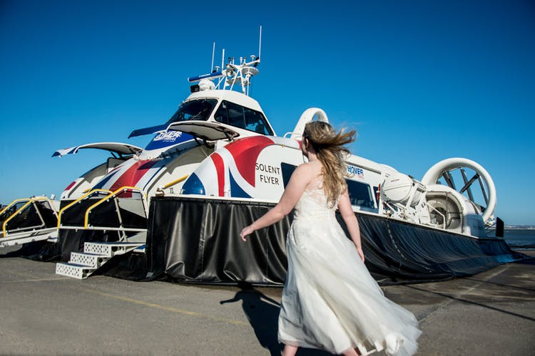 Your own bridal hovercraft