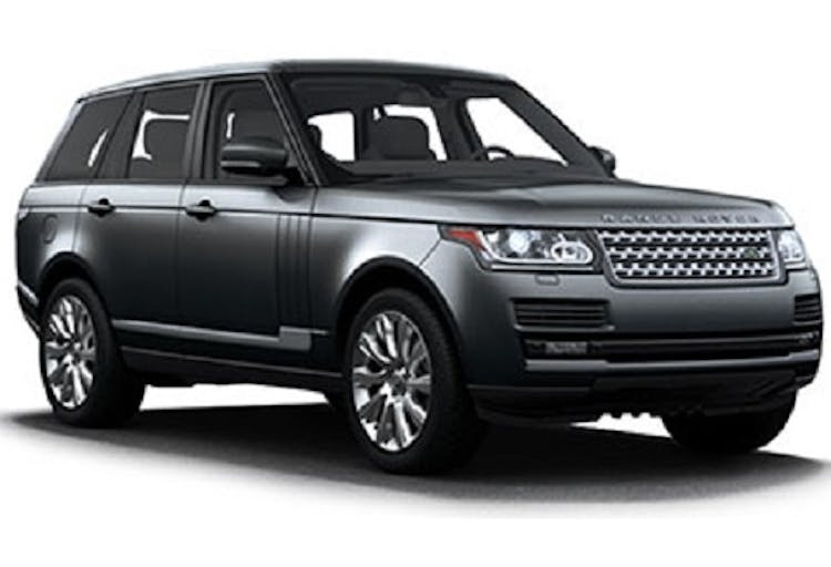 Range Rover Autobiography Chauffeur Service