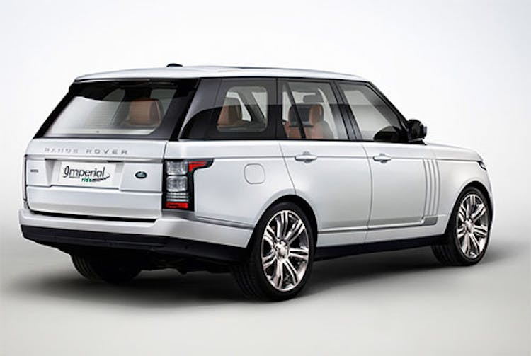 Hire Range Rover Autobiography