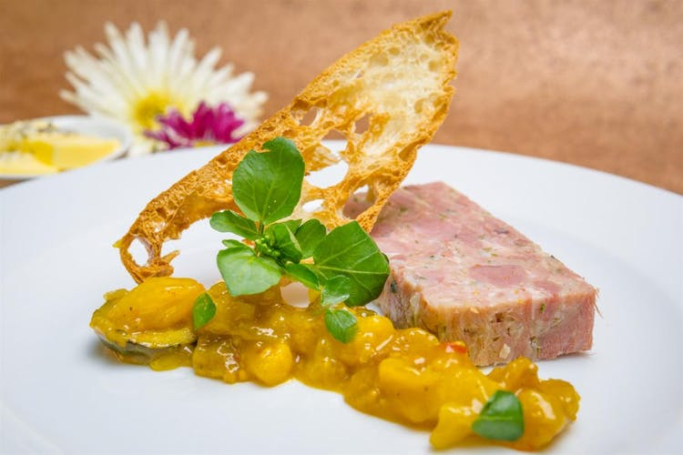 Pulled Ham Hock, Caper and Parsley Terrine