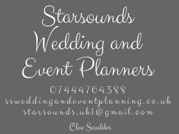 Starsounds Wedding and Event Planning