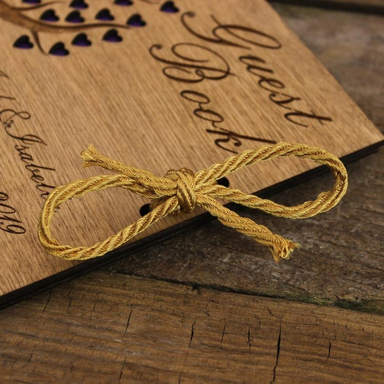Lovely Gold cord tie