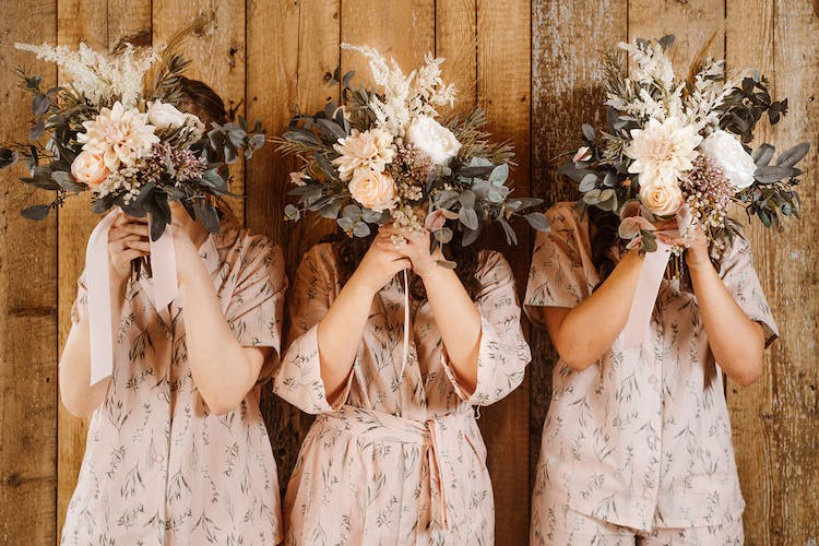 Bridal party pyjamas and robes