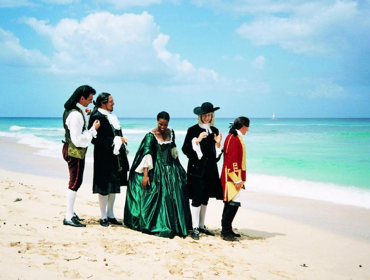 Opera on the Beach in Barbados
