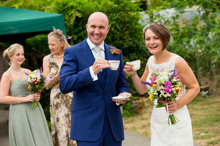 One of many weddings at Gants Mill in Bruton