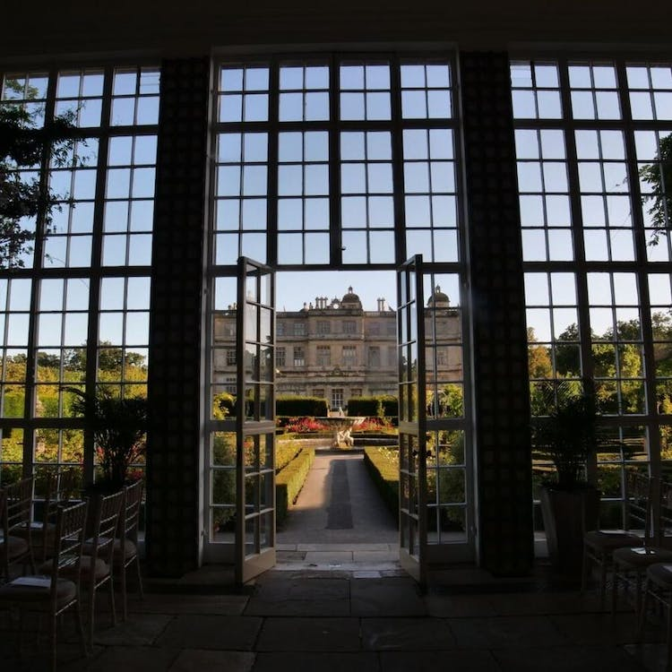 View of Longleat House from the Orangery