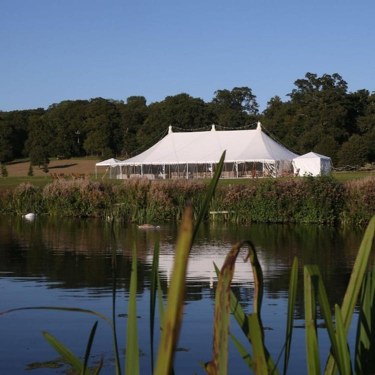 A stunning Lakeside Marquee