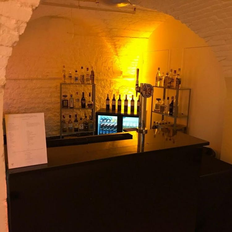 The Cellars in Longleat House for evening receptions
