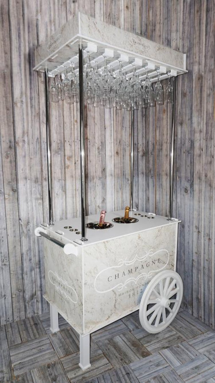 Crackin Candy Events - Champagne and Prosecco Cart