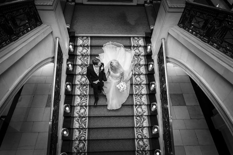 Credit John Hope Photography B&W stairs