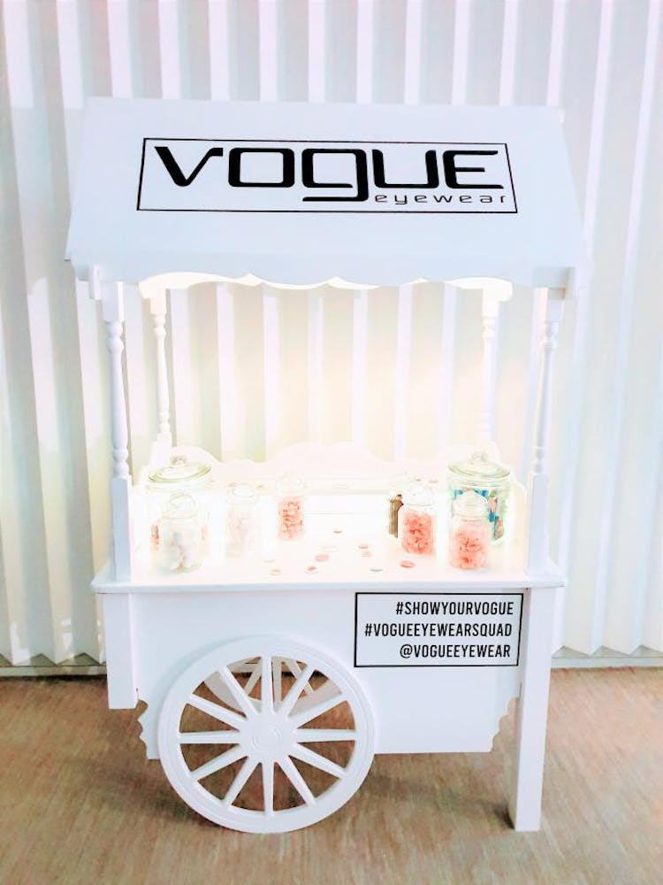 candy cart hire London