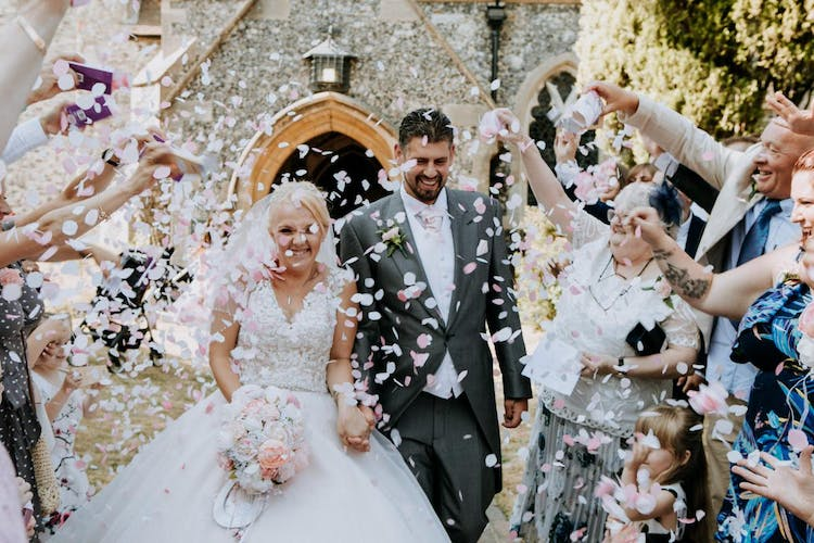 Just one of our confetti photos!