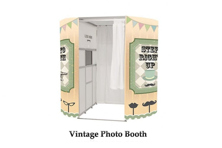 One our booths