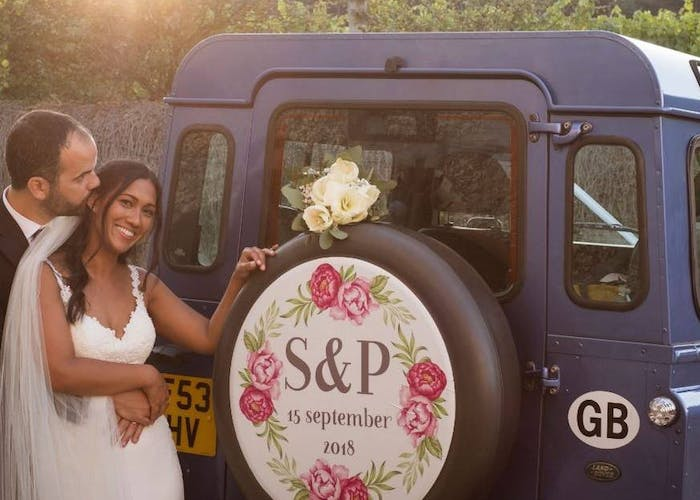 Land Rover Defender Weddings