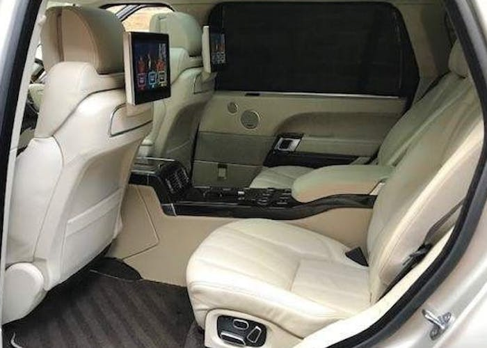 Range Rover Autobiography LWB Executive Seating and Mercedes V Class Wedding Cars