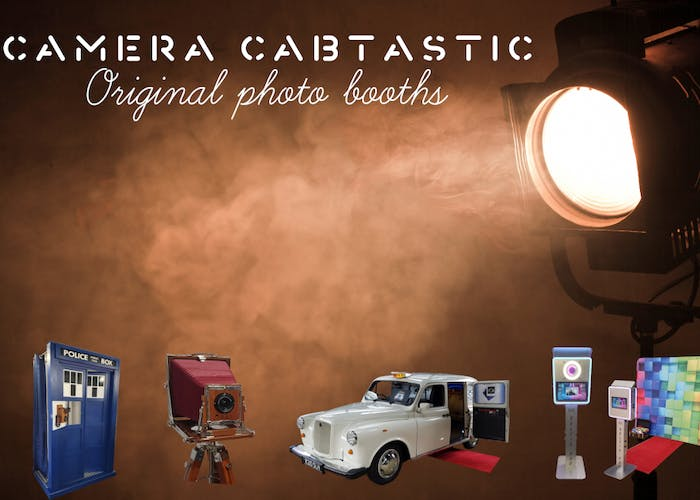 Camera Cabtastic Photo Booth Hire
